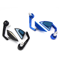7/822mm handle bar Custom bar end mirror cnc round motorcycle rearview mirrors FOR DUCATI Street Fighter 696 796 796 848