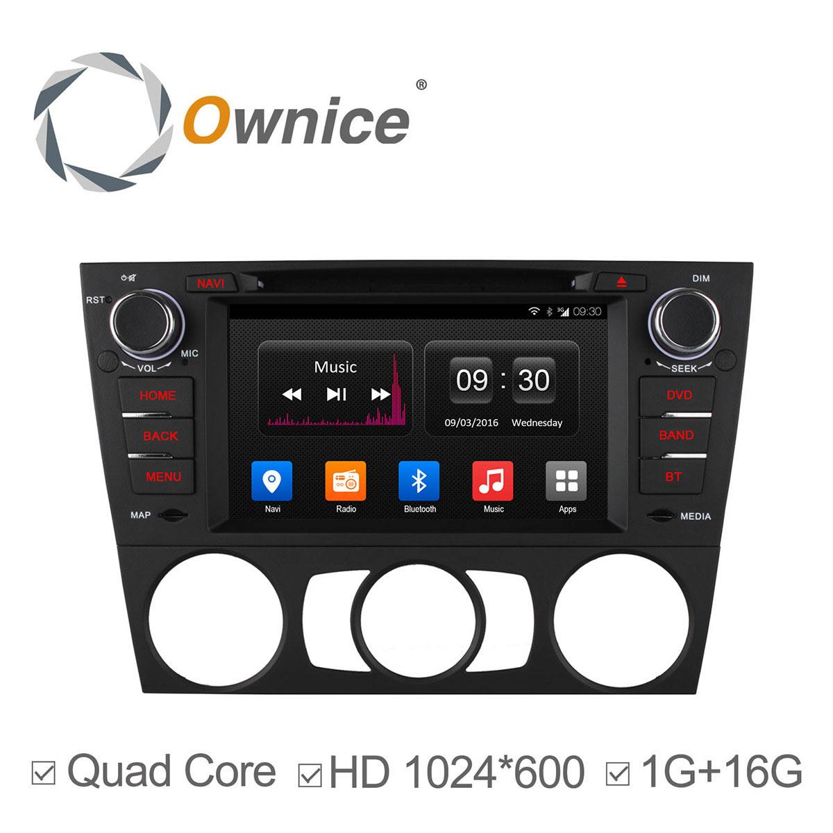 Android 44 4 Core 1024600 Car Stereo For Bmw E90 E91 E92 E93 Wifi