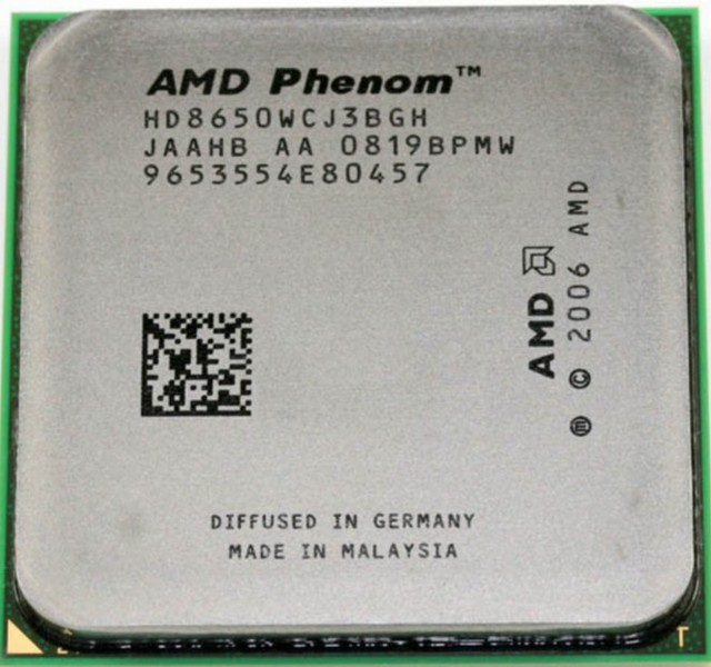 Αποτέλεσμα εικόνας για Phenom X3 8650