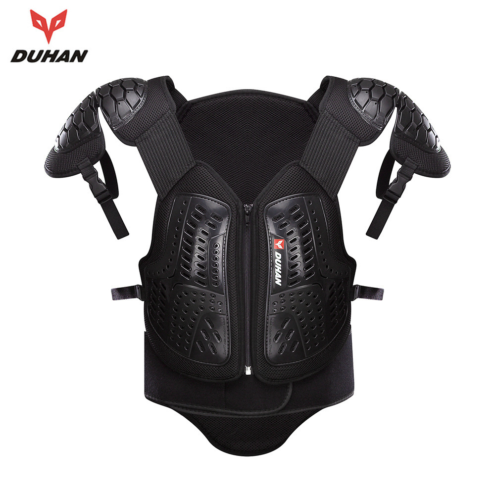 Motorcycle Racing Armor Clothes Off Road Motorbike Protection Back Support Protection Racing Protective With Elbow Pads DH-05 herobiker motorcycle riding body armor jacket knee pads set motorcross off road racing elbow chest protectors protective gear