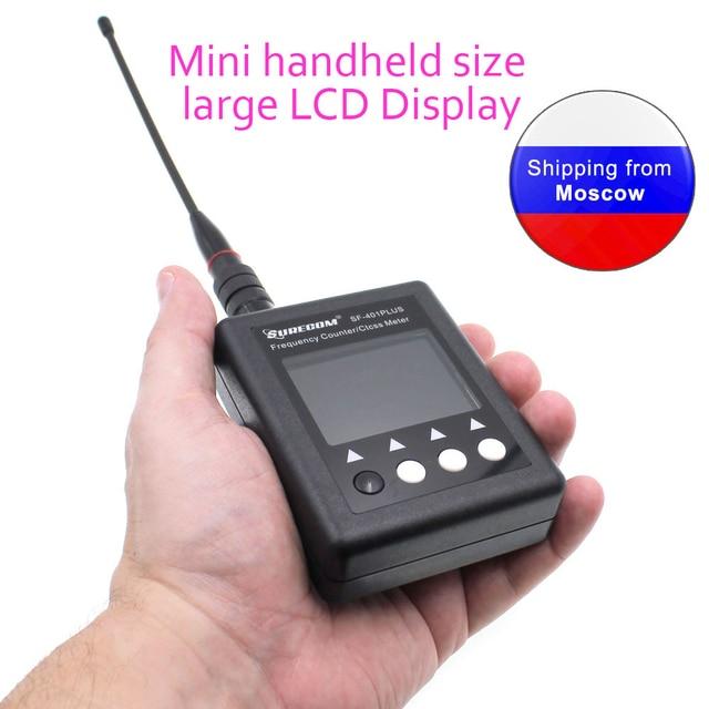 SURECOM SF401Plus راديو رقمي اختبار 27Mhz 3000Mhz عداد التردد المحمولة مع CTCCSS/DCS فك للاسلكي تخاطب