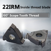 10Pcs 22IRM N60 GM3225 60°Scope Tooth Type Internal Thread Blade