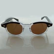 Johnny Depp Sunglasses Men Woman Brand Designer Acetate glasses Frame Polarized Sun Driver Shade Top quality Q083
