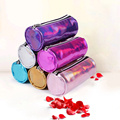Holográfica bolsa de Cosméticos Nueva maquillaje Resistente Al Agua bolsas para mujeres bolsa de cosméticos bolso del organizador de viajes pequeña bolsa de cosméticos bolsa de aseo