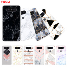 Marble Grain Simplicity Patterned Phone Back Case For LG G4 G5 G6 G7 Q6 Q7 Q8 V10 V20 V30 V40 K8 K10 TPU Art Customized Cover