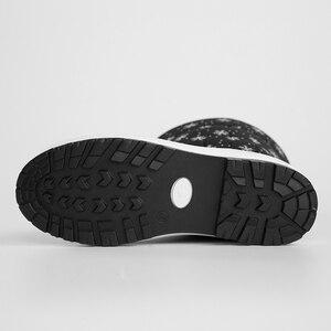 Image 3 - JCHQD 2019 الشتاء النساء الأحذية منتصف العجل أسفل الأحذية أفخم نعل بوتاس الإناث مقاوم للماء السيدات الثلوج أحذية الفتيات أحذية امرأة