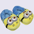 Гадкий я Миньоны 3D Глаза Хорхе Домой 11 ''Мягкие Плюшевые Игрушки Тапочки Подарок На День Рождения
