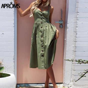 Aproms 27Patterns Print Midi Dress Plus Size Casual V Neck Slim Boho Dress Women Vestido High Wasit Summer Dress Sundresses 2019 - DISCOUNT ITEM  40% OFF All Category
