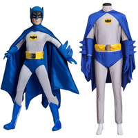 Batman Cosplay Spandex Batman Cosplay Costume Jumpsuit Tights Adult Men S Halloween Carnival Costume Cosplay