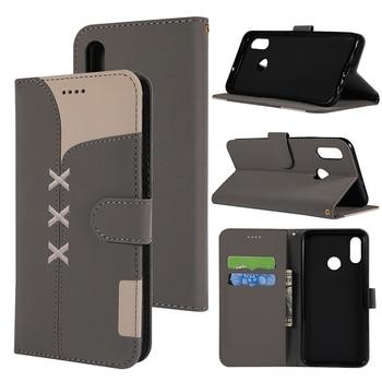 Cute Flip Wallet Phone Case For Huawei Honor 10 Lite 7S 7A 8A 8X P30 Pro P20 Lite Y5 Y6 Prime 2018 Y7 Y9 2019 Card Slot Cover 1