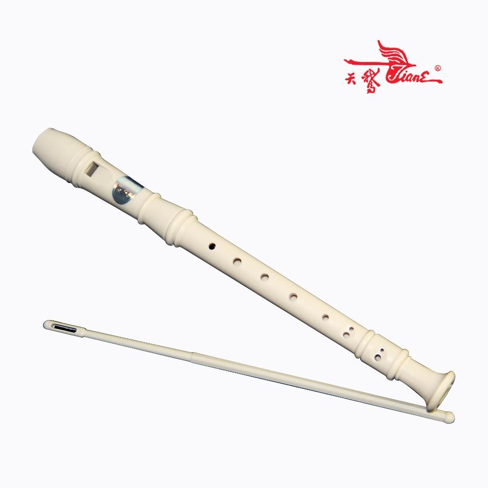 8 Agujeros De Madera Instrumentos Musicales de Viento de madera Flauta Soprano F