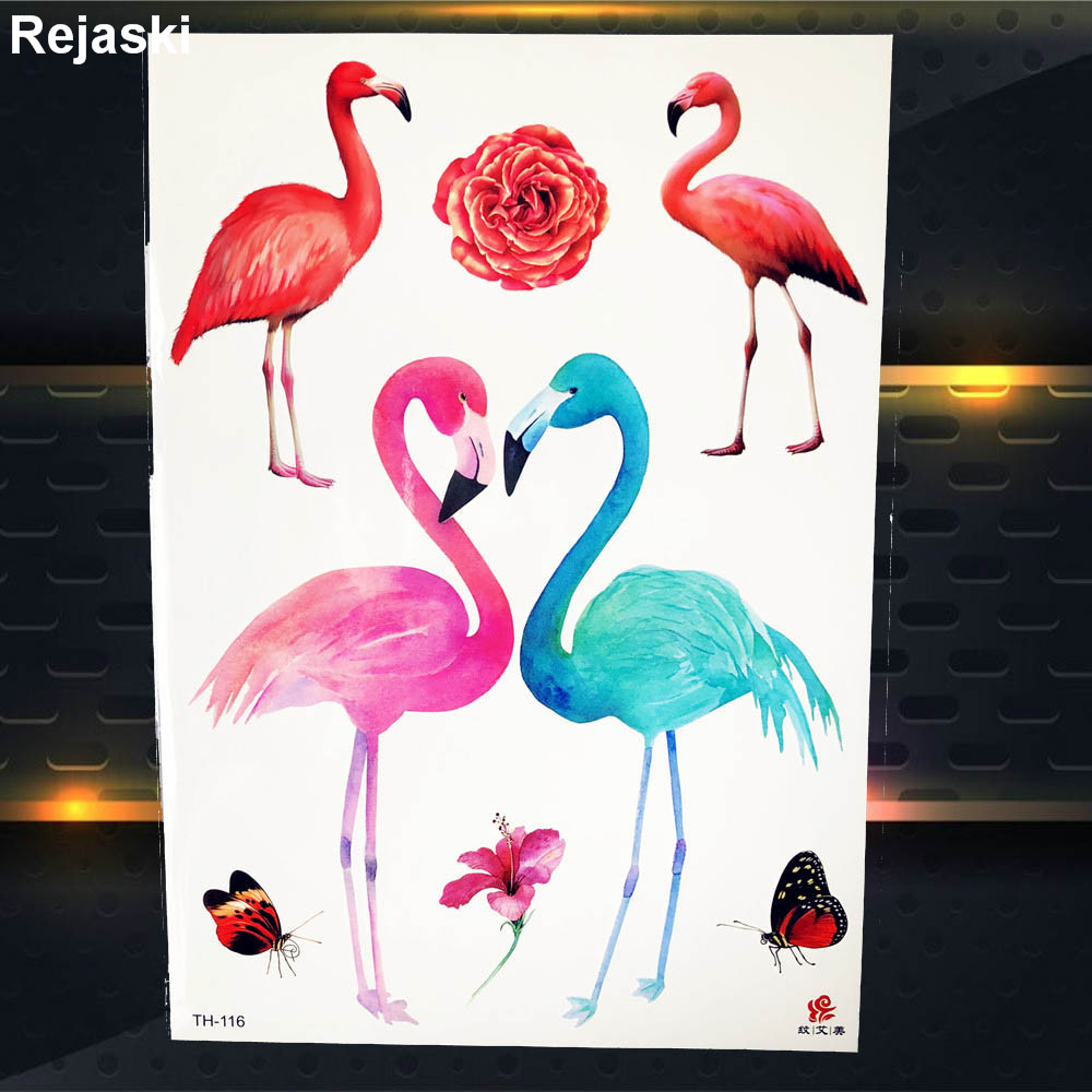aliexpress : buy colorful indians lion tattoo stickers flamingos