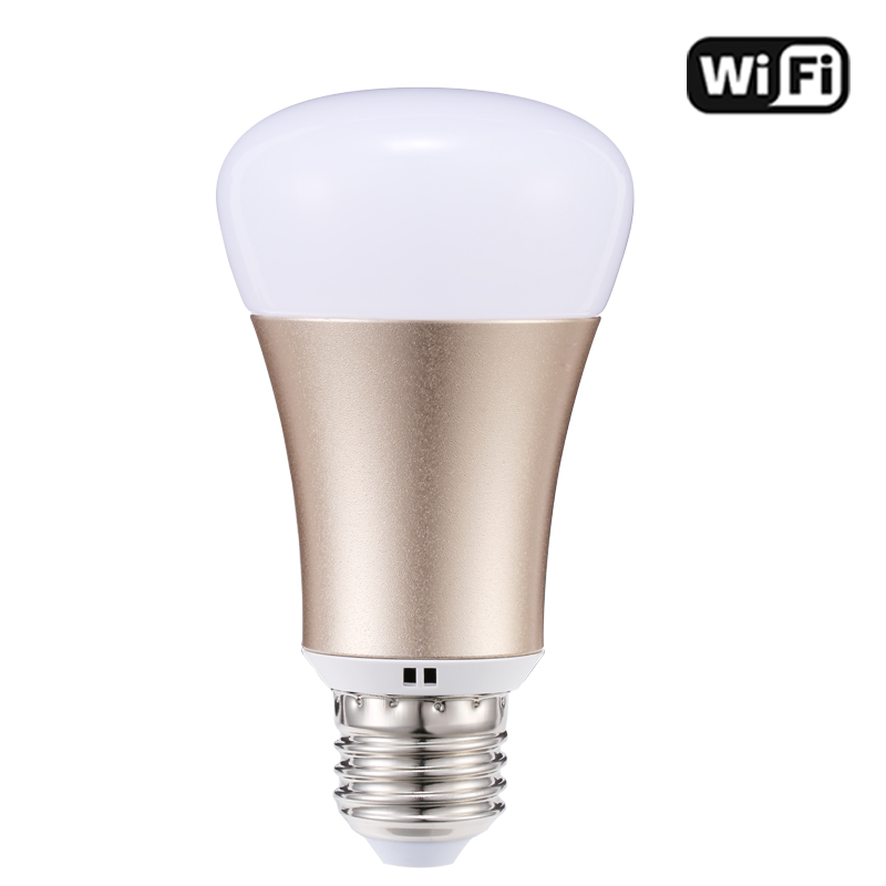 Xenon works with Amazon echo Alexa WiFi Bulb Smart RGB 5W E27 2.4Ghz colorful LED Lamp WiFi APP Remote control Light Bulb xenon wi fi bulb smart wreless bulb app control rgb e27 led lamps hot sale smart led lighting bulbs works with amazon echo alexa