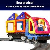 Магнитный конструктор Мини Строительные Конструкторы 3D конструкция Игрушечные лошадки Дети Детские развивающие творческие кирпичи Игруш