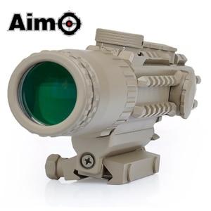 Image 5 - Aim O Airsoft Riflescope 1 3X Magnification Tactical Scope Aluminum Shooting Rifle Softair Telescope AO3033 Hunting Optics