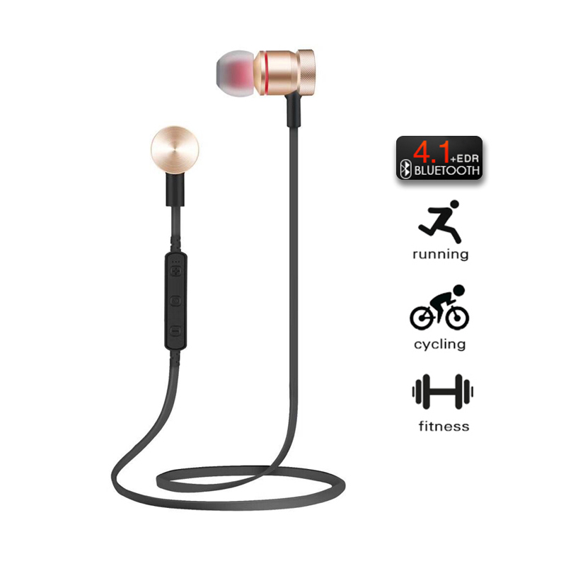 Pluseye Wireless Bluetooth Earphones Metal Magnetic Sport Running music Headpset Stereo Super Bass Headsets Earbuds with mic magnetic switch earphones sports running wireless earbuds bass bluetooth headsets in ear with mic for running fitness exercise