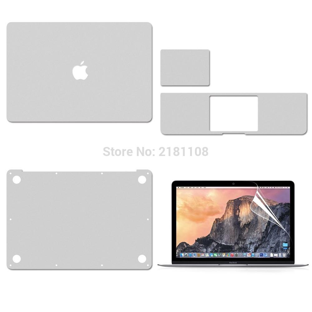 Protective Vinyl Decal Cover For Macbook Air 13 Inch A1932 Retina 12 A1931  Top/Bottom/Touchpad/Palmguard Skin /Screen Protector