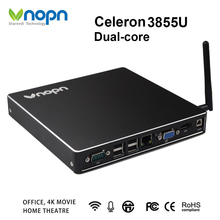 Mini PC Intel Celeron 3855U Barebone Dual-core CPU Windows/Linux HDMI VGA WIFI Antenna Desktops Gaming Computers Micro PC
