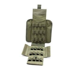 Image 5 - 2019 新狩猟アクセサリー戦術的な弾薬モール 25 ラウンド 12 ゲージ弾薬シェルエアガンマガジンポーチリロード