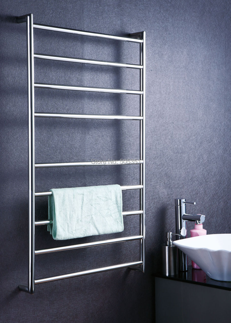 Bathroom Accessory Ladder Style Wall Mounted Heated Towel