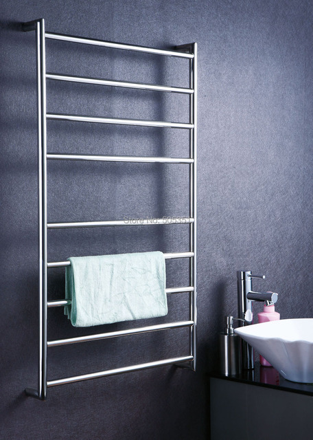 bathroom accessory ladder style wall mounted heated towel rail towel warmer hz 925a - Bathroom Accessories Towel Rail
