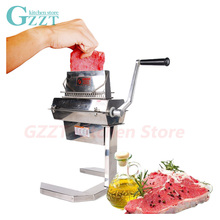 7 Wide Commercial Meat Tenderizer 37*2 Knifes Manual Meat Tenderizer Processing Machine Kitchen Tool Meat Poultry Tool