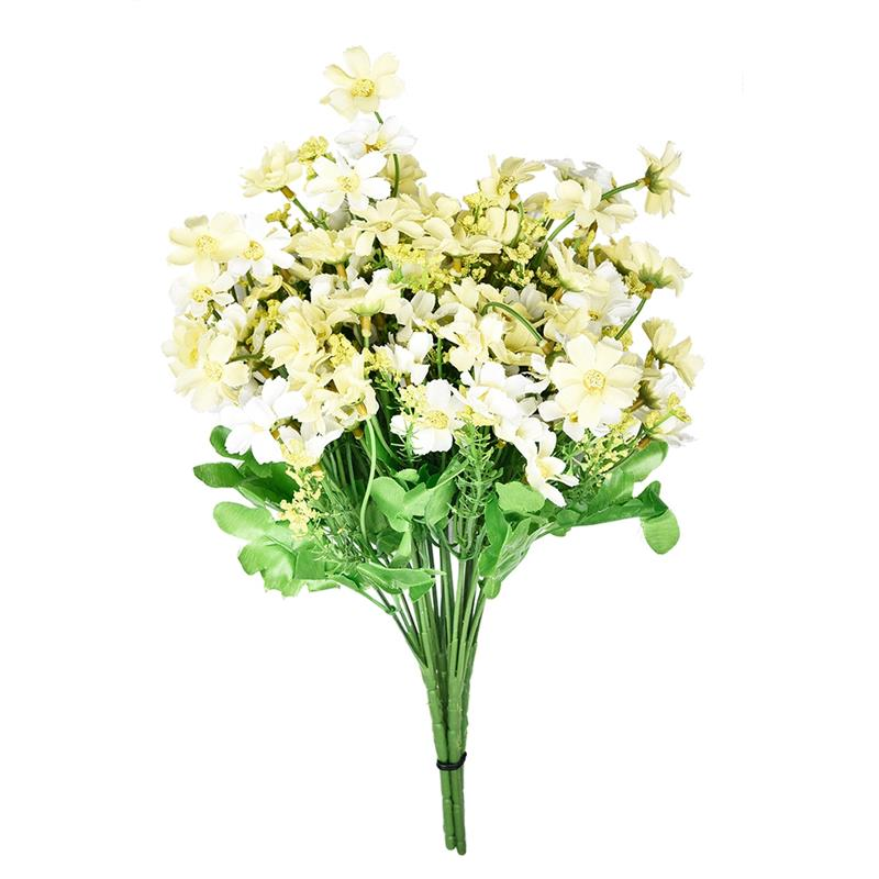 Jump Orchid Chrysanthemum Artificial Flowers Silk Flower Artificial Flowers Dried Fake Flowers for wedding Home Decoration