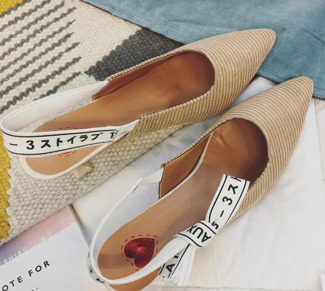 Lettres Pointu Ruban Femme 2017 Anglais Chaussures Bowknot D'été Est 0ONwvm8Pyn