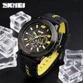 2017 Men's SKMEI Luxury Brand Analog Quartz Watch Man 3ATM Waterproof Fashion Casual Sport Watches Men Silicone Wristwatch