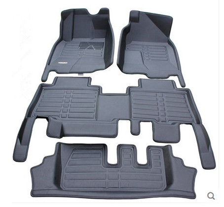 Top quality! Custom special car floor mats for Land Rover Discovery 3 2009 2004 7 seats waterproof carpets for Discovery 2007