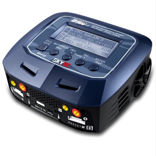 D100 V2 AC / DC Dual Balance Charger Discharger / Power Supply US / EU Plug for LiPo/ LiFe/ LiIon/ LiHV/ NiMH/ NiCd/ Pb Battery 1pcs up120ac duo balancing charger for lipo liion life nicd for ultra power