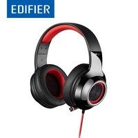 EDIFIER G4 Игровые наушники с масштабируемой Mic 7,1 Virtual Surround Sound светодиодный эффект вибрации линии Управление USB игровая гарнитура