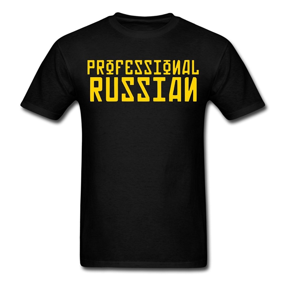 2017 Famous Brand Mens Summer FPS Russia Professional Russian Mens Cotton t shirt slogans Customized shirts for mens