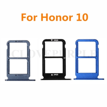 20pcs/lot SIM Card Tray for Huawei Honor 10 Sim card Slot Holder Adapter for Huawei Honor10