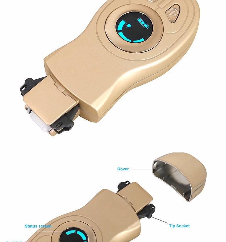 100V-240V LCD Electric Thermal Hair Removal Instrument Women\'s Epilator USB Charging4