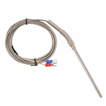 Giantree Цена по прейскуранту завода Горячая Распродажа 3 м из нержавеющей стали высокотемпературный кабель K Тип 100 мм Датчик-100~ 1250 градусов