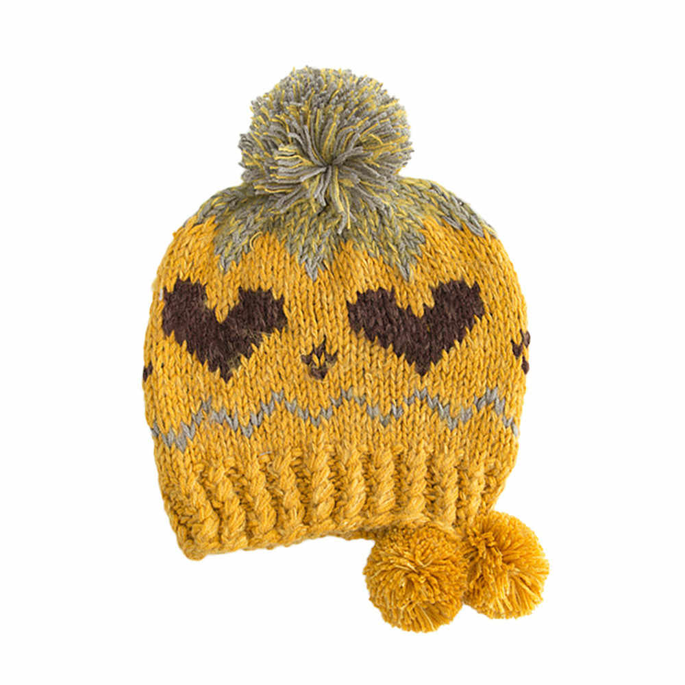174f441e051 New 201P Cable Knitted Bobble Hat Plain Men Women Beanie Warm Winter Pom  Wooly Cap Acrylic