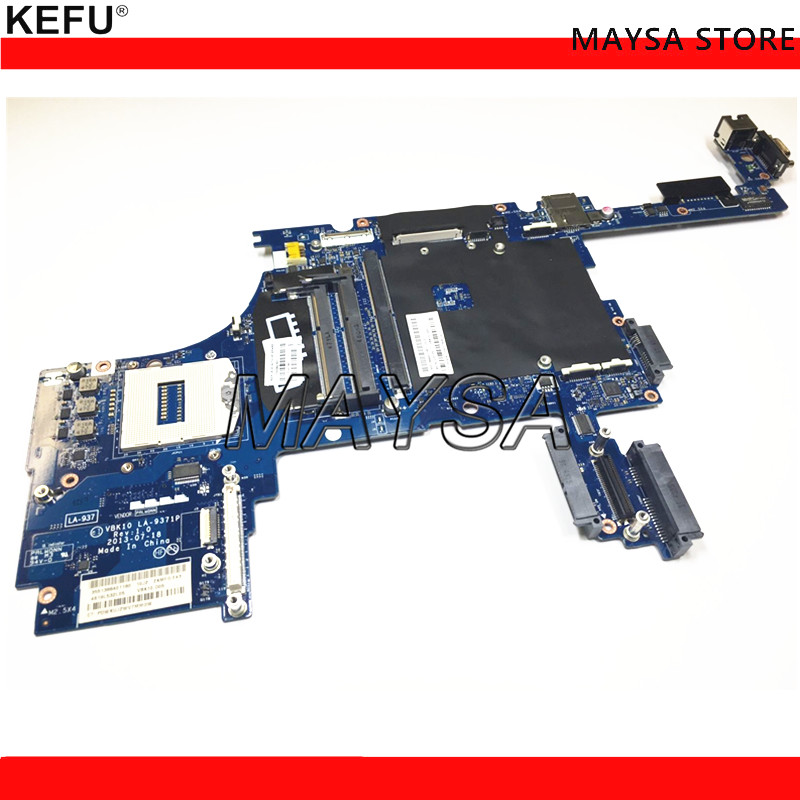 все цены на Original motherboard 735592-601 Fit For HP Zbook 17 laptop DIS graphics s947 QM87 system board VBK10 LA-9371P 735592-001
