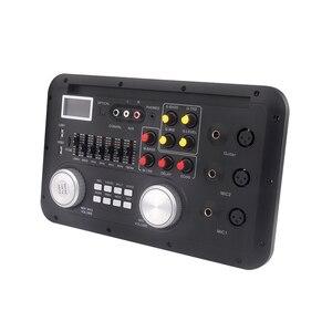 Image 2 - Bluetooth ses ses karıştırma konsolu MP3 modülü kayıt gitar mikrofon W. optik koaksiyel Aux girişi Analog I2S çıkış spektrum USB