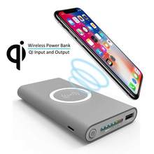 Qi Wireless Charger 30000mAh Power Bank Portable Powerbank Mobile Phone Charger For iPhone X 8 Plus Samsung Note 8 S9 S8 Plus S7(China)
