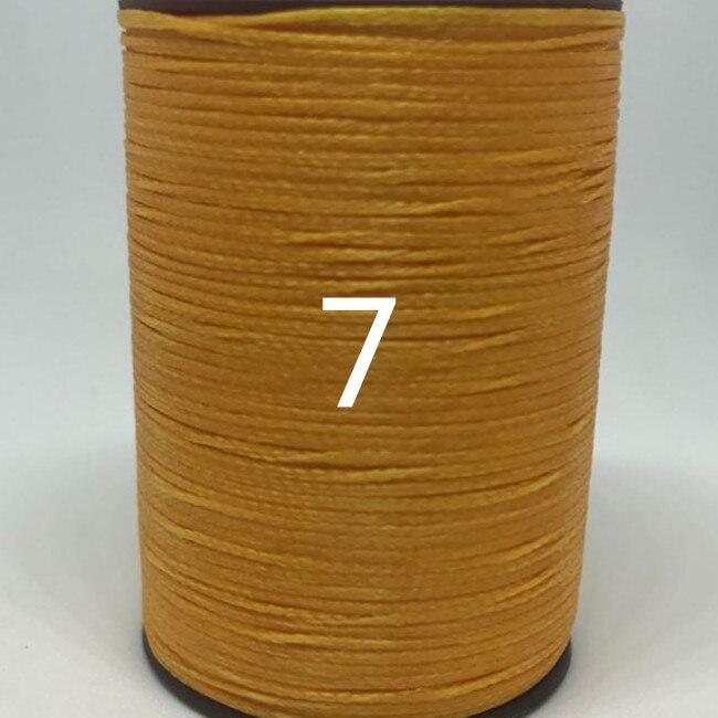 15ddc08a129c JH003 1,0mm plana hilo encerado cera cadena para la costura de cuero de