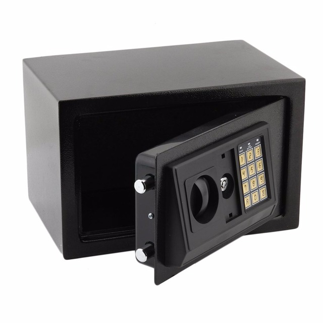 8.5L Secure box Digital Electronic Safety Box Home Office Money safe box High security electronic lock Fine powder coated box