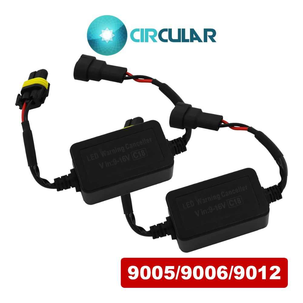 JGAUT DECODER H8 H9 H11 H13 HID H4 H7 LED Headlight Canbus Wire Harness H1 H3 9005 9006 9012 for BENZ AUDI V-W NO error