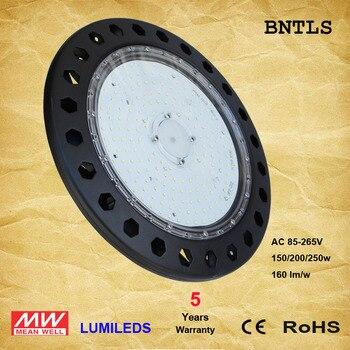 LED UFO Cao Bay Lights-LED Powered High Vịnh-(UL + DLC) (6000 K)