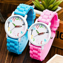 New Fashion Gnova Children's Watches Color Pencelin Casual Girl Boys Wristwatch Quartz Relogio para femme Clock Relogio Feminino