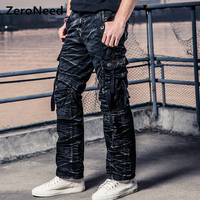Camo Cargo Pants Men Work Pant Men Multi Pocket Army Thermal Pantalon Mens Military Camouflage Pants