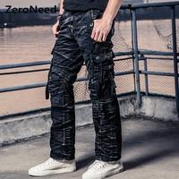 Camo Cargo Pants Men Work Pant Men Multi Pocket Army Thermal Pantalon Mens Military Camouflage Pants