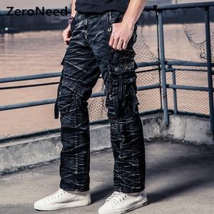 Image 2 - Cam Phối Hàng Quần Áo Làm Quần Áo Đa Năng Bỏ Túi Quân Nhiệt Pantalon Nam Quân Sự Ngụy Trang Quần Áo Mới Quần Cotton 164