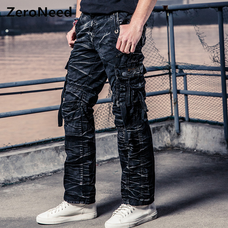 Camo Cargo Pants Men Work Pant Men Multi Pocket Army Thermal Pantalon Mens Military Camouflage Pants Men New Cotton Trousers 164