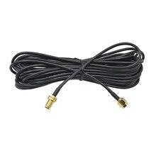 CHIPAL 9 м 6 м 3 м 1 м RG174 RP-SMA кабель-удлинитель Мужской к женскому интерфейсу Чистая медь для Wi-Fi маршрутизатор Антенна коаксиальный